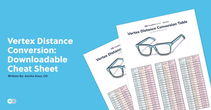 Vertex Distance Conversion: Downloadable Cheat Sheet