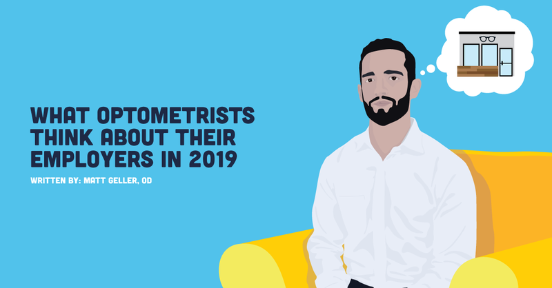 What Optometrists Think About Their Employers in 2019