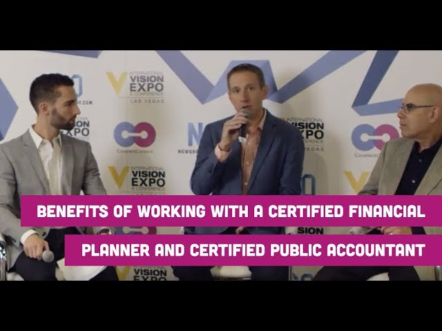 Benefits of Working With a Certified Financial Planner