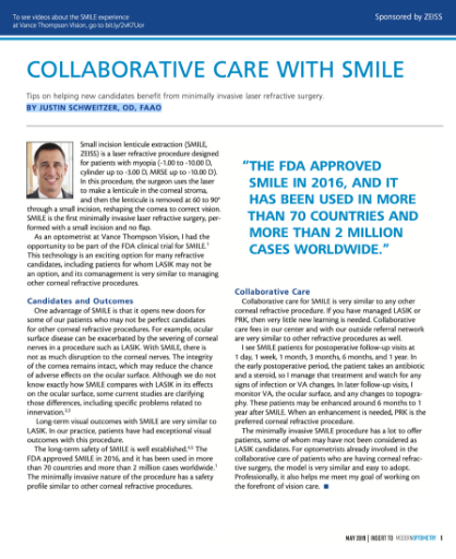 Collaborative Care With SMILE