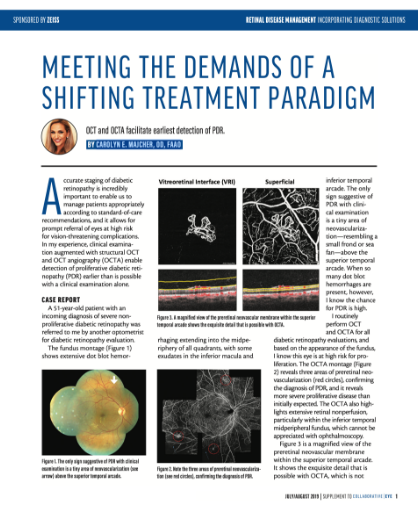 Meeting the Demands of a Shifting Treatment Paradigm