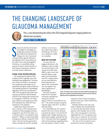 The Changing Landscape of Glaucoma Management