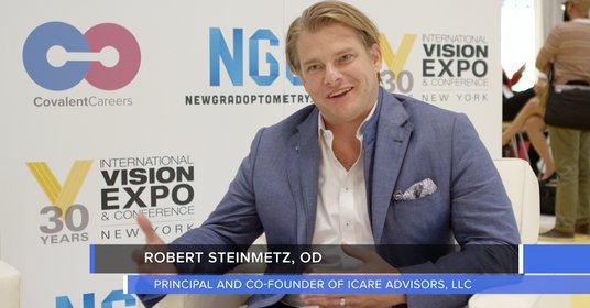 Bob Steinmetz OD Weighs in on Optometry Jobs and Practice Partnerships