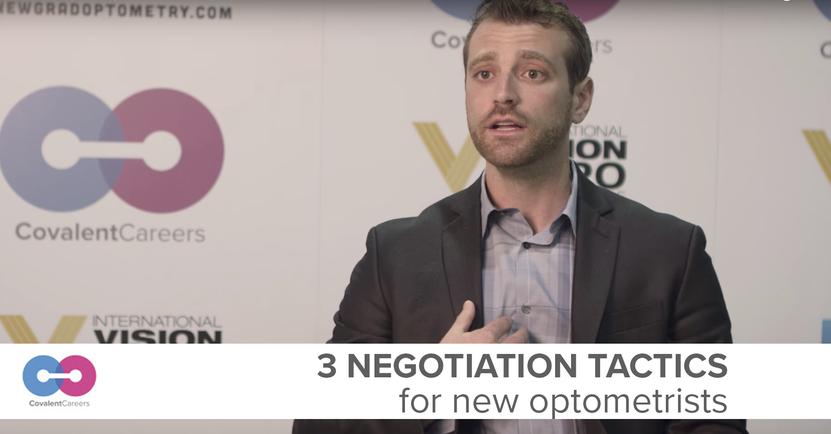 3 Negotiation Tactics for New Optometrists
