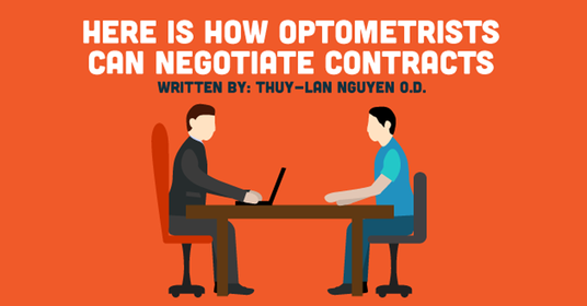 How to Negotiate Contracts as an Optometrist