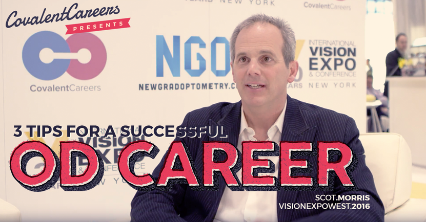 3 Tips for a Successful Optometry Career