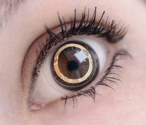 contact lens sensor