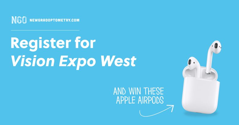 Register for Vision Expo West and Win Some AirPods