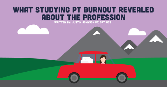 What Studying PT Burnout Revealed About The Profession